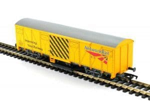 Network Rail Track Cleaning Wagon